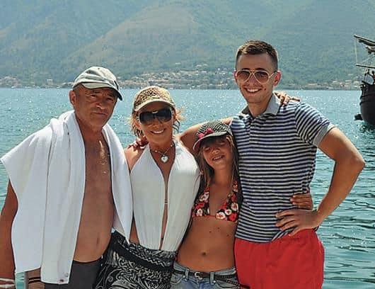 Семья и дети Елены Воробей фото