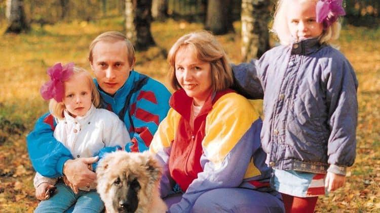 Семья и дети Людмилы Путиной фото