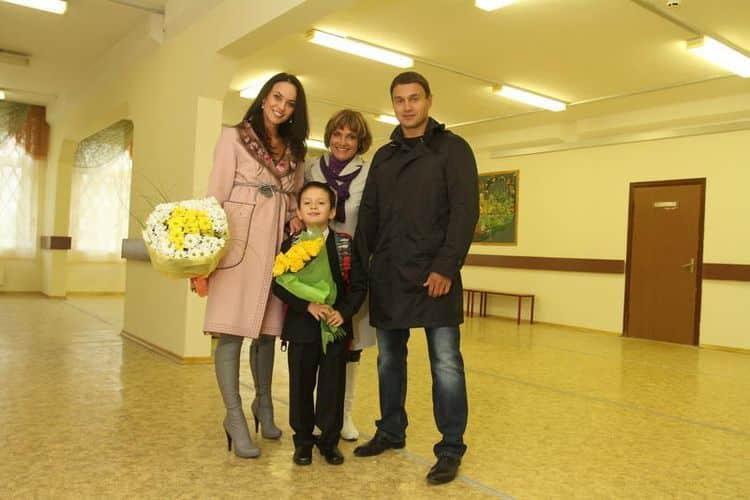 Семья и дети Марии Берсеневой фото