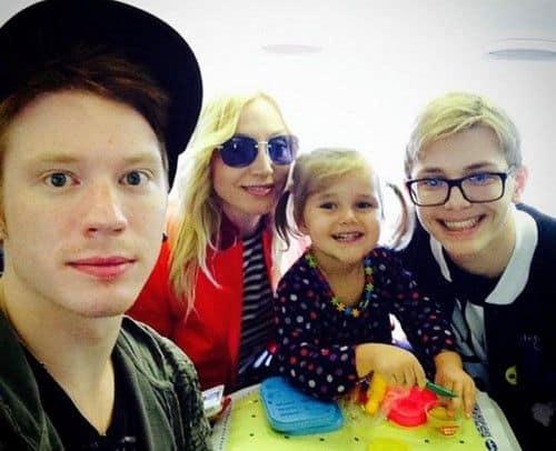 Семья и дети Никиты Преснякова фото