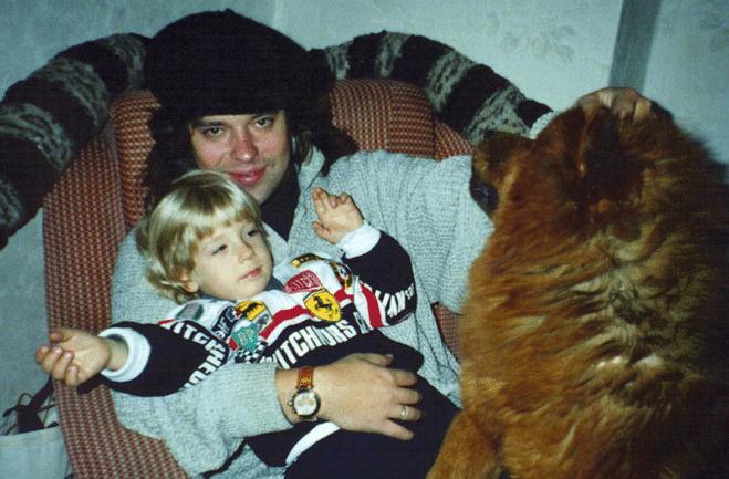 Семья и дети Жени Белоусова фото