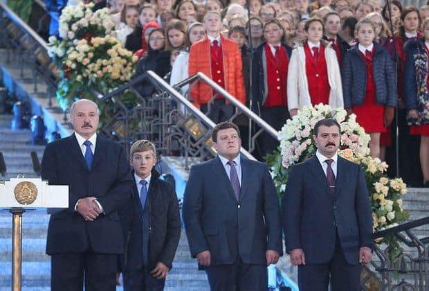 Сын Александра Лукашенко – Дмитрий фото