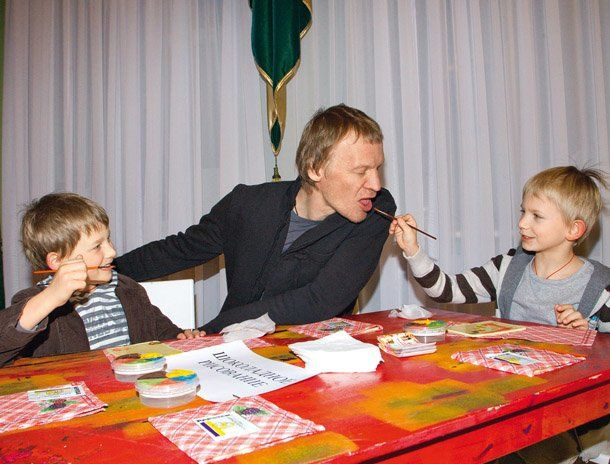 Сын Алексея Серебрякова – Степан фото