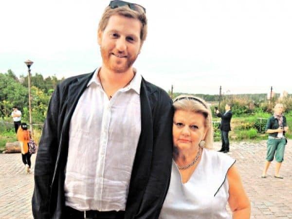 Сын Ирины Муравьевой – Евгений Эйдлин фото