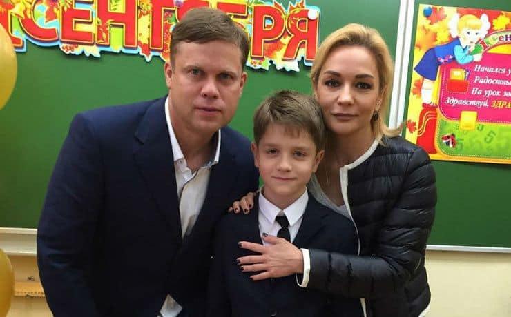 Сын Татьяны Булановой – Никита Радимов фото