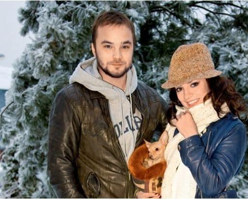 Жена Андрея Чадова фото