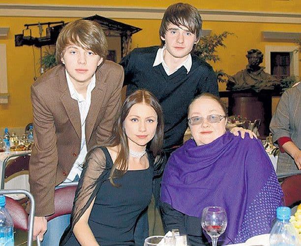 Дети Марии Мироновой фото