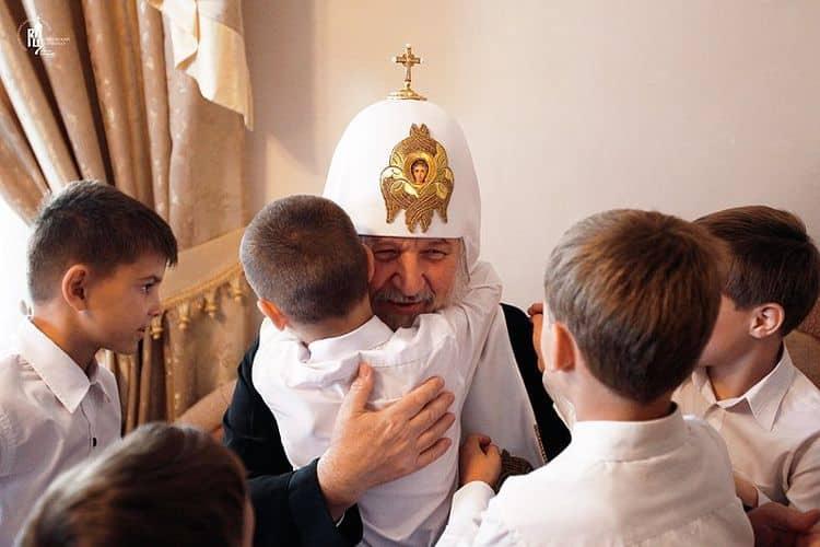 Дети Патриарха Кирилла фото