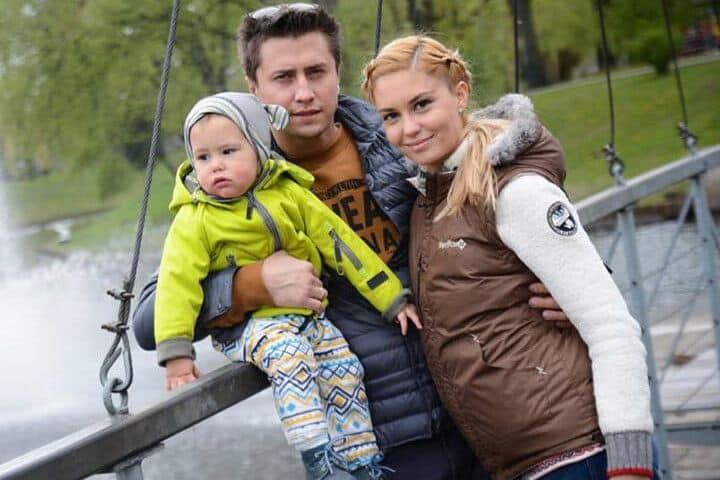 Дети Павла Прилучного (актер) фото
