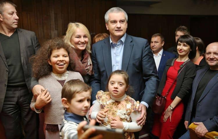 Дети Сергея Аксенова фото