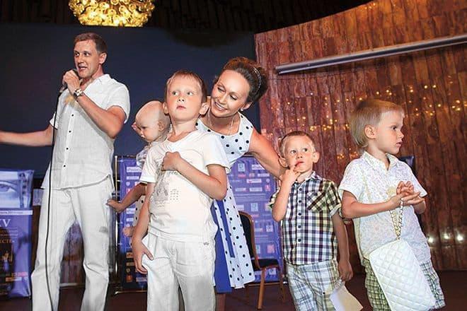 Дети Сергея Горобченко фото