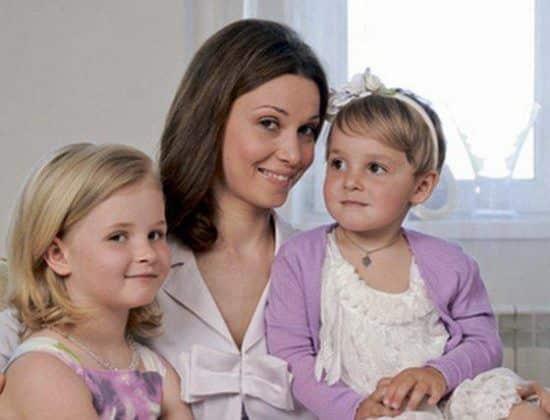 Дочь Александра Голубева – Анастасия фото