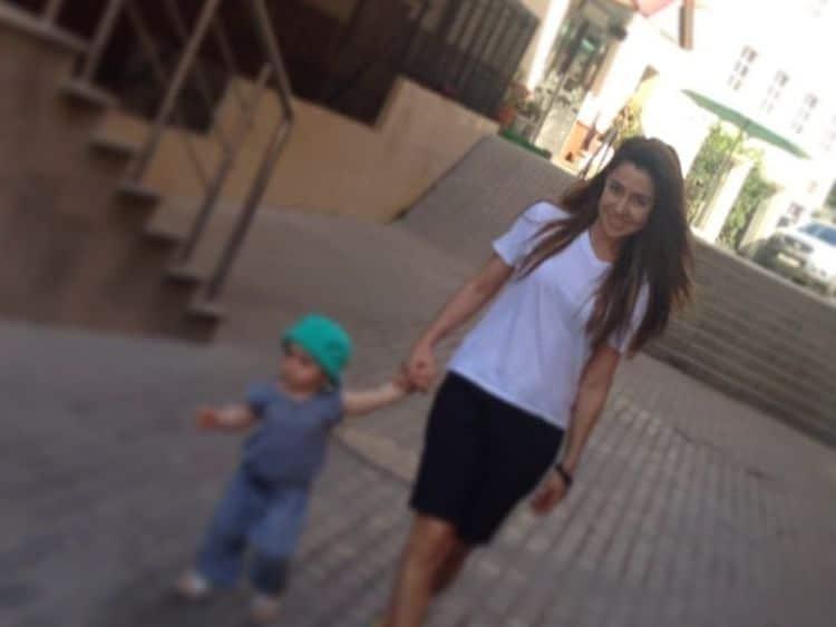 Дочь Алексея Гомана – Александрина фото