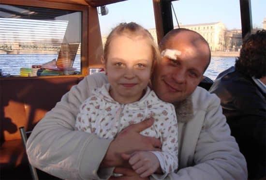 Дочь Федора Емельяненко — Елизавета фото