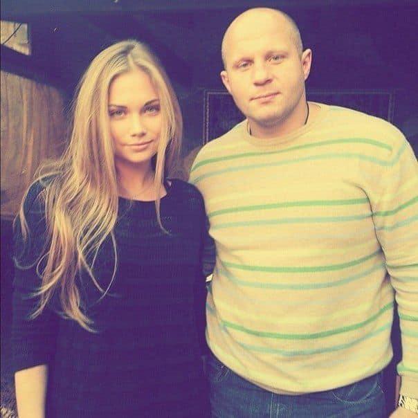 Дочь Федора Емельяненко — Мария фото