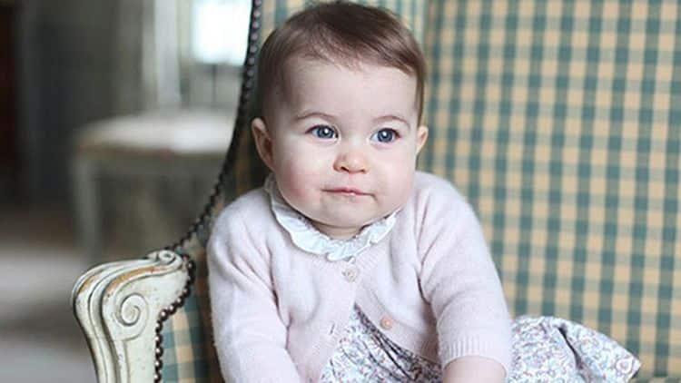 Дочь Кейт Миддлтон – Шарлотта Елизавета Диана фото