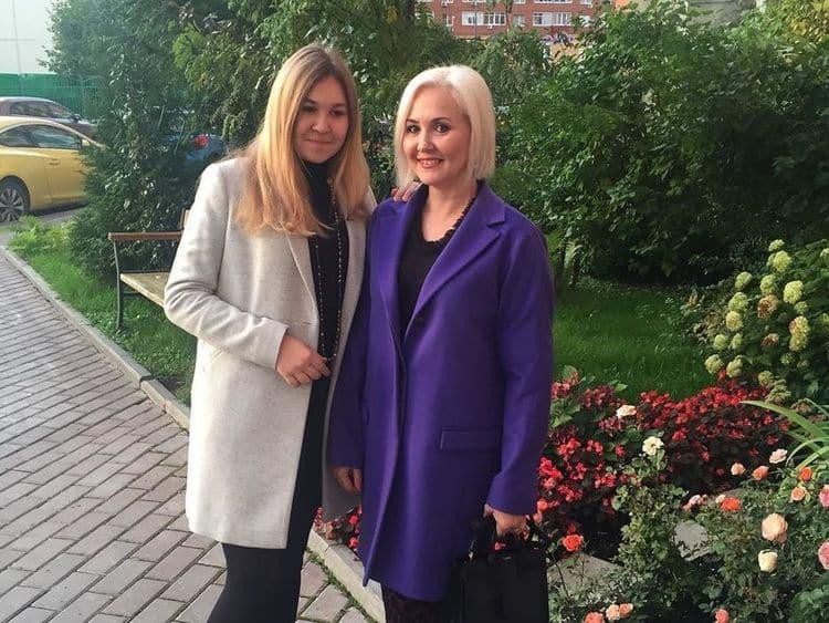 Дочь Василисы Володиной – Виктория фото