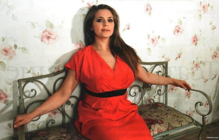 Фото Ирины Пеговой в журнале Максим
