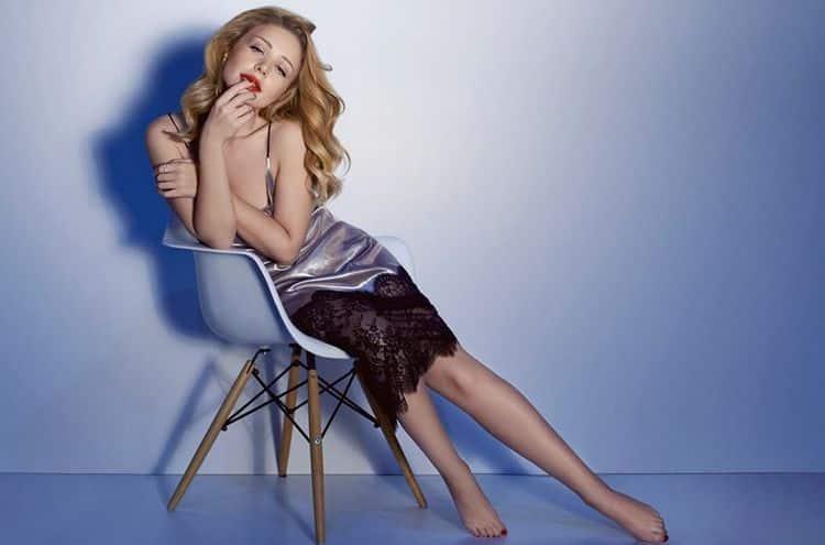 Фото Тины Кароль в журнале Максим