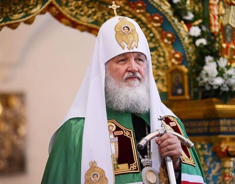 Рост, вес, возраст. Сколько лет Патриарху Кириллу фото