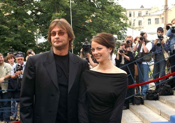Семья Александра Домогарова фото