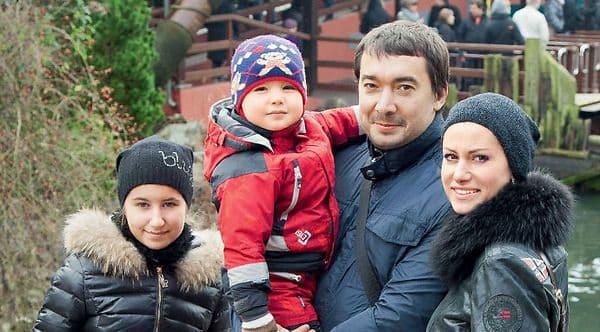 Семья Анны Ковальчук фото
