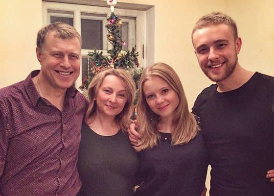 Семья Егора Крида фото