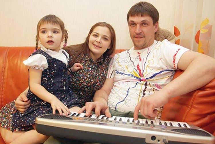 Семья Ирины Пеговой фото