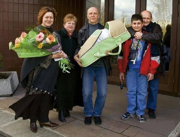 Семья Марии Ароновой фото