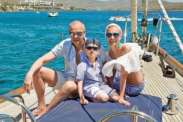 Семья Олеси Судзиловской фото