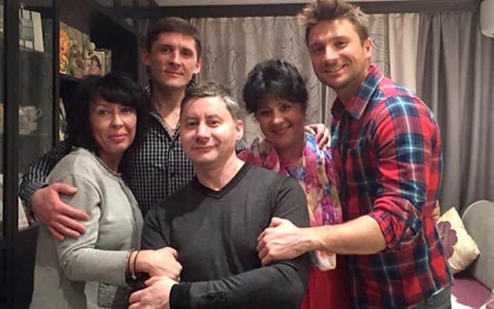 Семья Сергея Лазарева фото