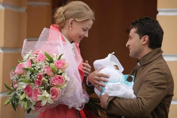 Семья Светланы Ходченковой фото