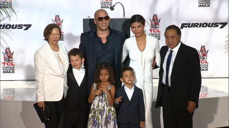Семья Вина Дизеля фото