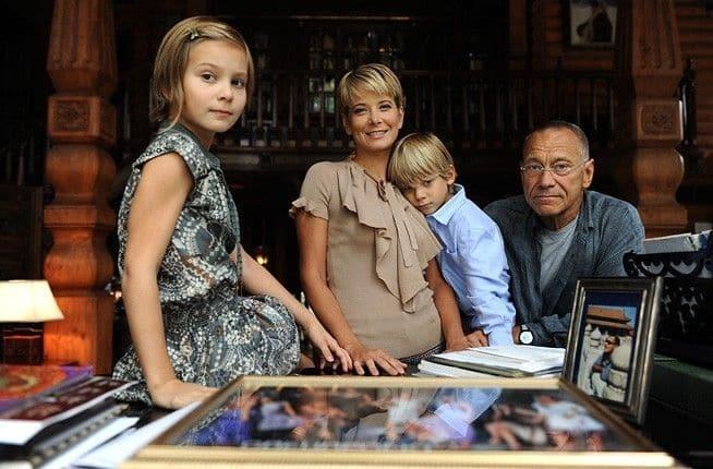 Семья Юлии Высоцкой фото