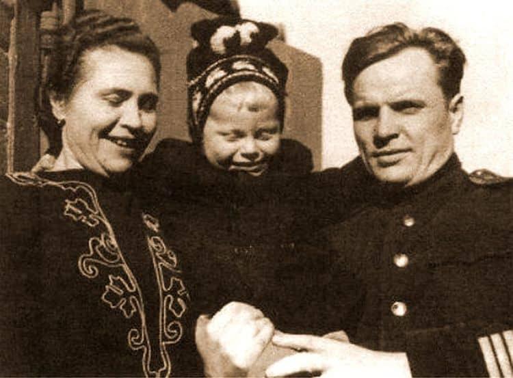 Семья Юрия Богатырева (актер) фото