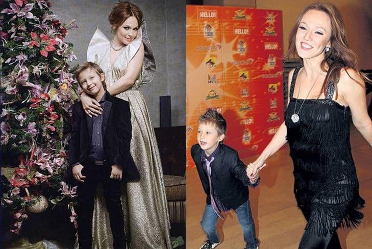 Семья и дети Альбины Джанабаевой фото