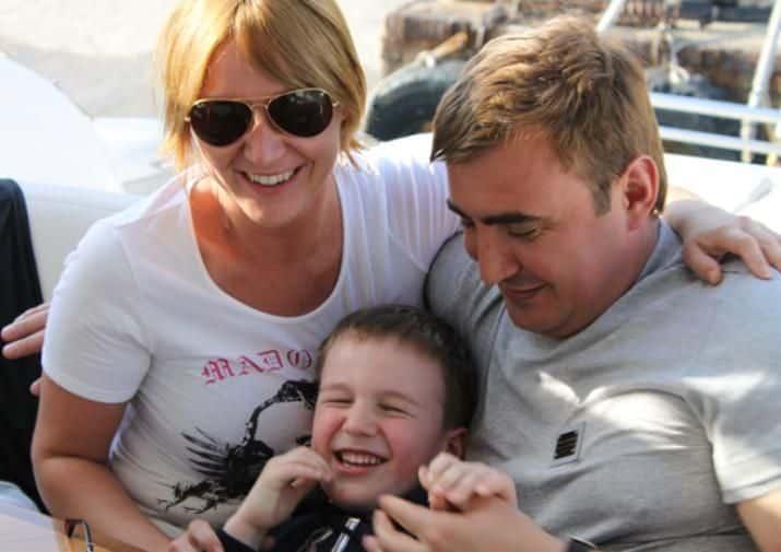 Семья и дети Алексея Дюмина фото
