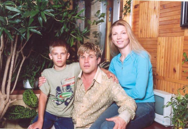 Семья и дети Алексея Глызина фото