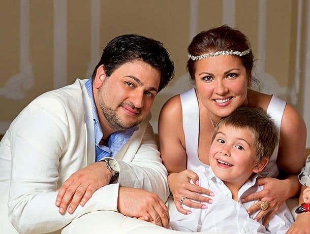 Семья и дети Анны Нетребко фото
