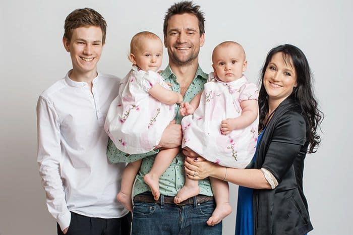 Семья и дети Дмитрия Миллера фото