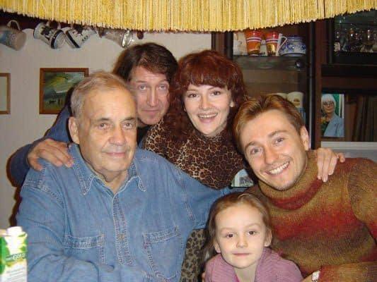 Семья и дети Эльдара Рязанова фото