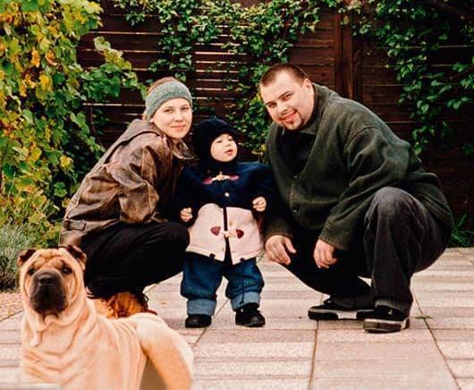 Семья и дети Макса Фадеева фото