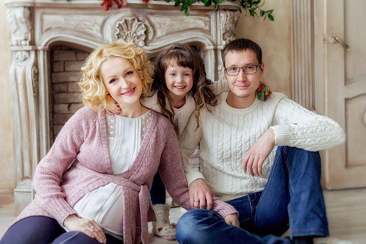 Семья и дети Марии Аникановой фото