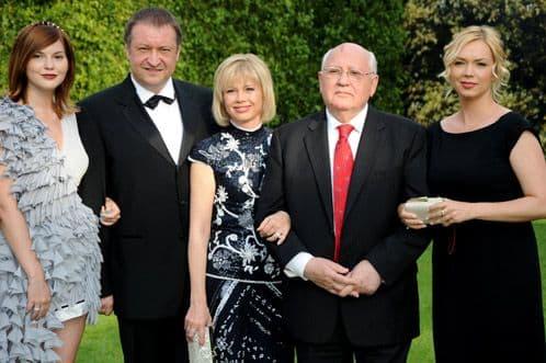 Семья и дети Михаила Горбачева фото