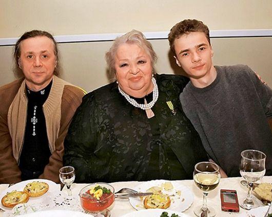 Семья и дети Натальи Крачковской фото
