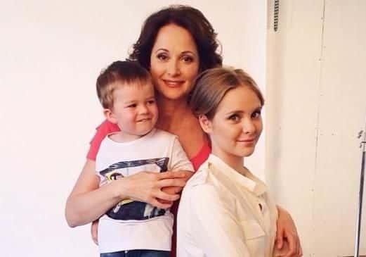 Семья и дети Ольги Кабо фото