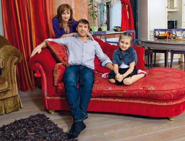 Семья и дети Владимира Вдовиченкова фото