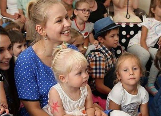 Семья и дети Юлии Пересильд фото
