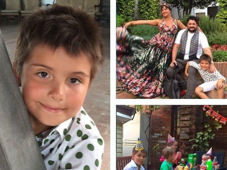 Сын Анны Нетребко — Тьяго Аруа Шротт фото
