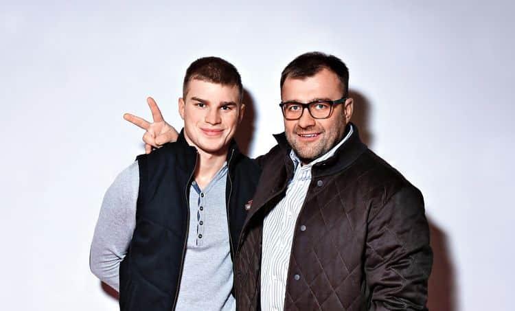 Сын Михаила Пореченкова – Владимир Любимцев фото